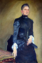 "Copy of Sargent's ""Portrait of Mrs. Adrian Iselin"""